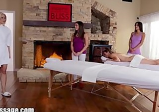 exclusive: all beauty massage mother and daughter