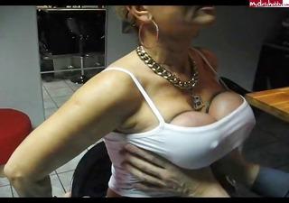 tits massage