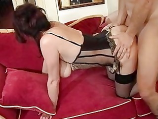 aged mamma male spunk fountain after orgasm by
