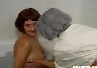 granny likes to massage