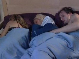 whilst mama sleeps brat and boyfriend play