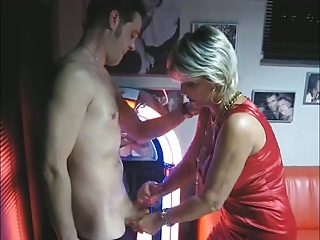 aged makes tugjob and oral stimulation at the