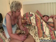 weenie hungry granny bonks her son in law