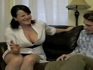 sexy breasty smokin mamma bangs soninlaw
