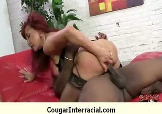 interracial cougar hard sex 55