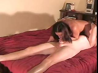 wife copulates to creampie