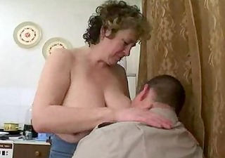 older russian seduces fat lad