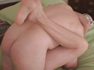 creampie trickling from wifes cunt