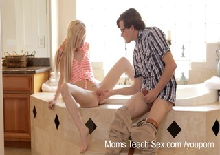 mammas educate sex - he is lastly acquires to