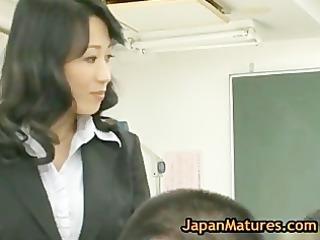 natsumi kitahara ass drilling threesome boy part1